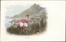 Gersau, Gersau, Switzerland - Early 1900's Postcard