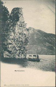 Mythenstein, Seelisberg, Switzerland - Early 1900's Postcard