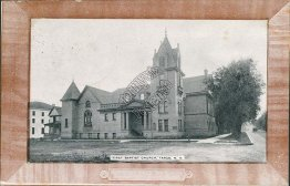 First Baptist Church, Fargo, ND - Early 1900's Postcard