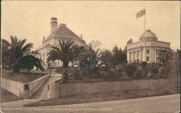 Cremation Association, Howe & Mather St., Oakland, CA - Early 1900's Postcard