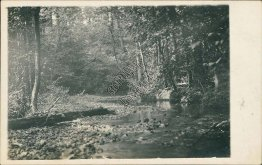 Creek, Scenic View, Summitville, TN to Belmont, Tennessee 1912 Postcard