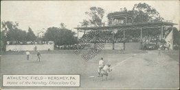 Baseball Game, Athletic Field, Hershey, PA Pennsylvania - Early 1900's Postcard