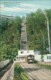 Incline Railway R.R., Montreal, Quebec, Canada - Early 1900's Postcard