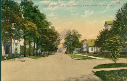 West Barraque St., looking East, Pine Bluff AR Arkansas - Early 1900's Postcard