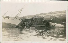 Steamer Thordr Ship Wreck, Sinking - Early 1900's Photo