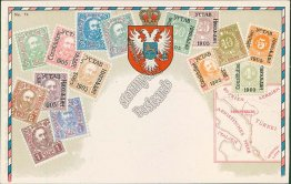 Jicin, Czech Republic Czechoslovakia 1928 Stamp Philatelic Postcard, Postmark
