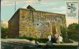 Old Revolutionary Block House, Gillies Coffee, New York City, NY Postcard