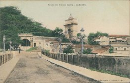 Passage to Castro Ave., Caracas, Venezula - Early 1900's Postcard