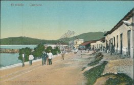 The Pier, Carupano, Venezula - Early 1900's Postcard