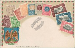 Mexican Stamps Pre-1907 Stamp Philatelic Postcard