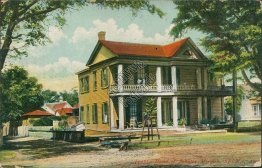 Home of Senator John Tyler Morgan, Selma, AL Alabama - Early 1900's Postcard
