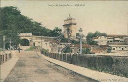 Castro Ave., Caracas, Venezula - Early 1900's Postcard