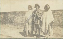 Natives of Ecquador - Early 1900's Real Photo RP Postcard